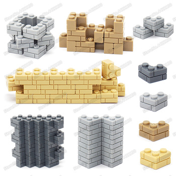 Piece 1x3 Building Blocks Corner Brick Lot Diy Military City Technology Figures Mini Model Moc Child Christmas Birthday Gift Toy