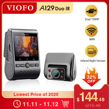VIOFO A129 Duo IR Front And Interior Dual Dash Cam 5GHz Wi Fi Full HD 1080P Buffered Parking Mode For Uber Taxi