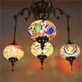 Этнические серьги-Капельки Кулон с узором лампы витраж марокканский подвесной светильник коридор лестница кафе ресторан Подвесная лампа