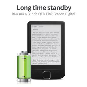Image 4 - BK4304 4,3 дюймовый OED Eink экран цифровой смарт электронная книга читатель дети чтение обзор электронная книга портативный смарт электронная книга ридер электронная книга книга электронная