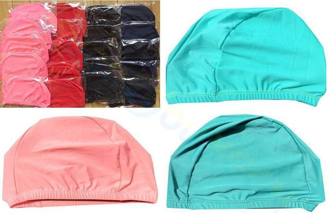 Bonnet de bain élastique pour enfants, pour filles et garçons de 1 à 10 ans 6