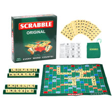 English Scrabble Games Kid Crossword Puzzles Children Board Spelling Table Children'S Educational Toys Interesting Scrabble Kit fandom media fun and easy korean vocabulary crossword puzzles