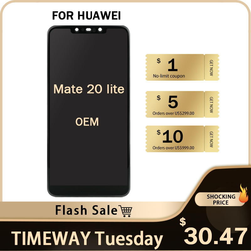 Good Quality OEM For Huawei Mate 20 lite LCD Display With Touch Screen Assembly Replacement For Huawei Mate 20 lite LCD Screen