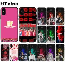 HTXian NCT Bands kpop Black TPU Soft Phone Cover for iPhone 11 pro XS MAX 8 7 6 6S Plus X 5 5S SE XR case(China)