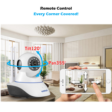 Беспроводная ip камера KERUI 720P 1MP HD WiFi, веб камера для домашней безопасности, камера видеонаблюдения Yoosee, приложение, панорамирование, ИК камера