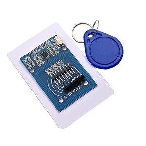 Image 1 - Free shipping 50pcs  RC 522 RC522 RFID Antenna IC Wireless Module For Ardu KEY IC SPI Writer IC Card Reader Proximity module