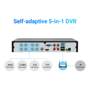 Image 3 - H.VIEW AHD DVR 8ch 4ch Recorder Surveillance 1TB HDD AHD DVR 8ch 4ch Recorder Surveillance for Analog TVI CVI IP Camera