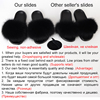 SARSALLYA Fur Slippers Women Real Fox Fur Slides Home Furry Flat Sandals Female Cute Fluffy House Shoes Woman Brand Luxury 2020 4