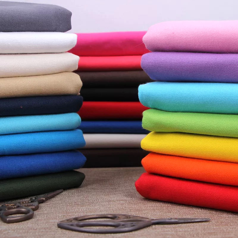 50cm*150cm 100% Cotton Thick Canvas Fabric, Handmade DIY Quilting Patchwork Bag Cloth Painting Canvas
