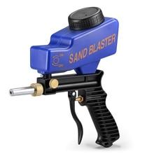 Portable Gravity Sandblasting Gun Rust Blasting Device Sand Machine Home DIY Pneumatic Set