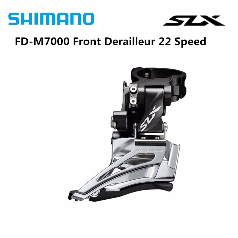 <font><b>Shimano</b></font> <font><b>SLX</b></font> <font><b>M7000</b></font> 22 speed High Clamp Mountain Bike Front Derailleur - FD-M7025-<font><b>11</b></font>-H 22s image