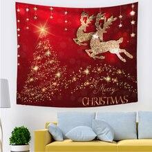 Рождественский гобелен настенное украшение Рождественская елка