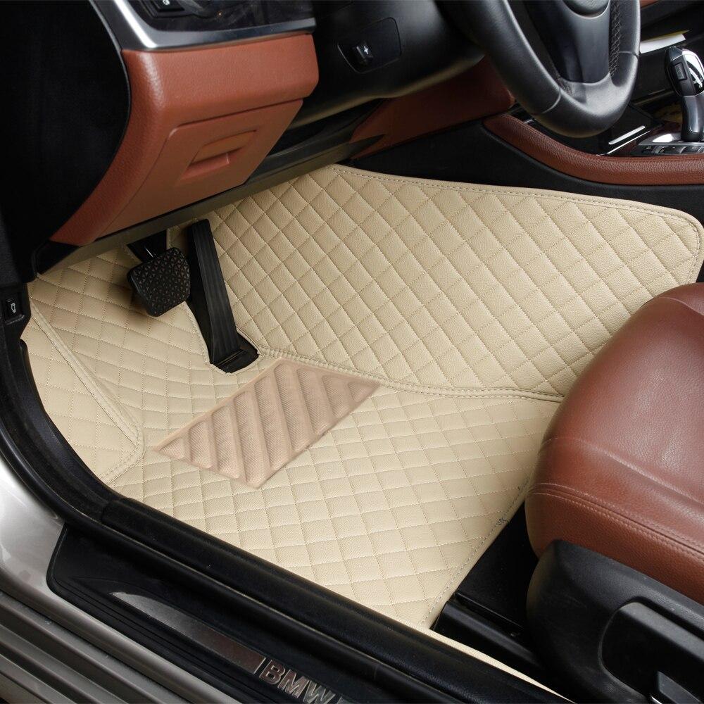 Tapis de sol de voiture pour Toyota Land Cruiser 100 200 Prado 120 150 RAV4 Camry Corolla Highlander Alphard Prius Yaris Fortuner tapis de voiture - 5