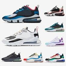 Safari react 270s running shoes men women Chaussures triple black white CNY Para