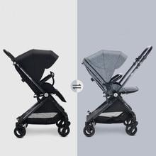Lightweight reversable baby stroller,kinderwagen, folding Pram