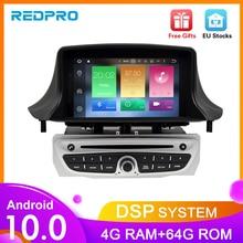 IPS Android10.0 Car DVD Multimedia Play For Renault Megane 3 2009 2010 2011 2012 Fluence 4G RAM GPS Navigation Stereo Audioradio