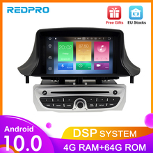 IPS Android10.0 DVD לרכב מולטימדיה לשחק עבור רנו מגאן 3 2009 2010 2011 2012 Fluence 4G RAM GPS ניווט סטריאו Audioradio