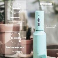 Pulverizador para plantas y flores, regadera eléctrica recargable por USB, limpieza del hogar, herramienta automática para plantas domésticas