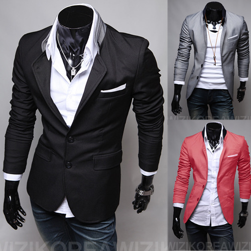 Suit Jacket Men's Fashion England Men'S Wear Autumn MEN'S Suit England Suit Men's Export