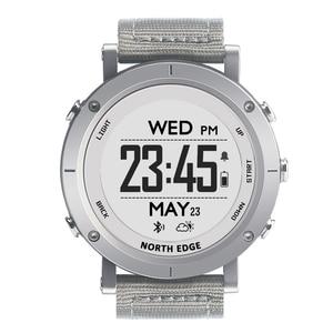 Image 2 - חכם שעונים גברים חיצוני ספורט שעון עמיד למים 50m דיג GPS מד גובה ברומטר מדחום מצפן גובה צפון קצה