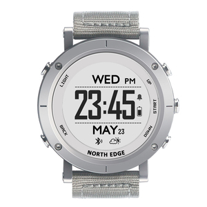 Image 2 - Smart watches Men outdoor sports watch waterproof 50m fishing GPS Altimeter Barometer Thermometer Compass Altitude NORTH EDGE