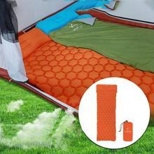Открытый Кемпинг руки Надувной Спальный Мешок дверной коврик один ультра-светильник коврик кровать кемпинг коврики воздушная подушка коврик коса подушка