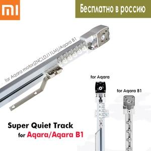 Super Quiet Electric Curtain Track for Xiaomi Aqara/Aqara B1 Motor/Dooya KT82/DT82,Smart Curtain Rails System,Free to Russia