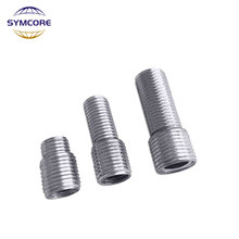 Screw Threaded-Tube Iron Teeth-Adapter Fine M10 Hollow To Tooth-Tube-Tool-Accessories