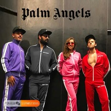 Palm Angels Jackets Men Women Autumn Winter Windbreaker Baseball Bomber Camouflage Jeans Hombre Army Varsity Jacket