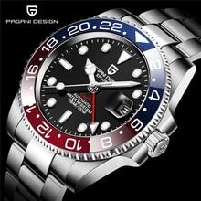 PAGANI DESIGN GMT Watch Sapphire Glass 40mm Automatic Mechanical Men's