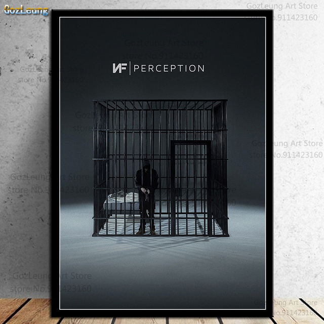 NF Perception Wall Art Pictures Posters and Prints for Home Decoration 1