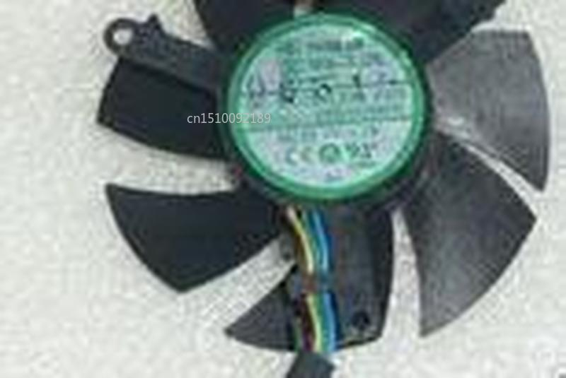 Genuine For YOUNG LIN DFB501005H DC5V 1.1W 4Pin 4Wire 4610 46x46x10mm Graphics Card Cooling Fan Free Shipping