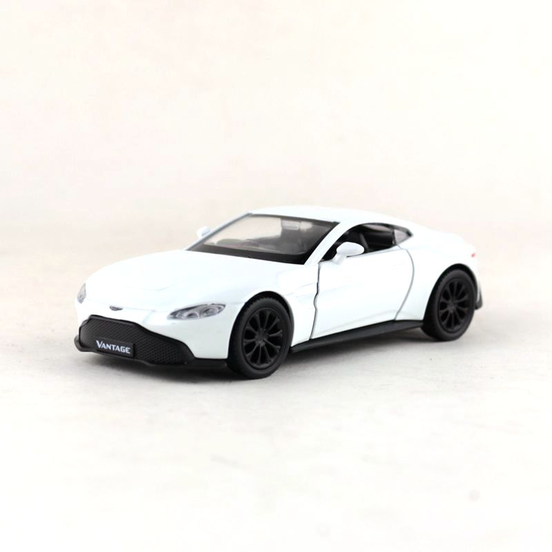 Rmz City Toy Diecast Model 1 36 Scale Aston Martin Vantage Pull Back Doors Openable Car Educational Collection Gift For Kid Diecasts Toy Vehicles Aliexpress