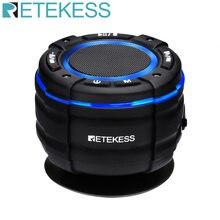 Retekess TR622 Bluetooth haut-parleur IPX67 étanche sans fil douche haut-parleur voiture Portable haut-parleur avec ventouse Radio FM