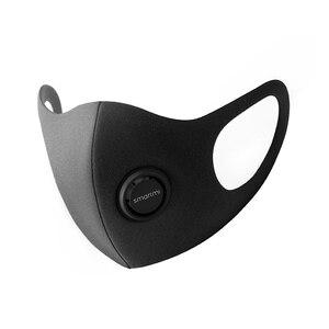 Image 1 - НОВЫЙ ФИЛЬТР маска Xiaomi Mijia Smartmi блок 97% PM 2,5 с вентиляционным клапаном долговечная термополиуретановая маска фильтр умный дом