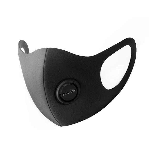 НОВЫЙ ФИЛЬТР маска Xiaomi Mijia Smartmi блок 97% PM 2,5 с вентиляционным клапаном долговечная термополиуретановая маска фильтр умный дом