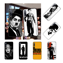NBDRUICAI comedian Charles Chaplin Accessories Soft Silicone Black Phone Case for Huawei P30 P20 P10 P9 P8 Mate 20 10 Pro Lite(China)