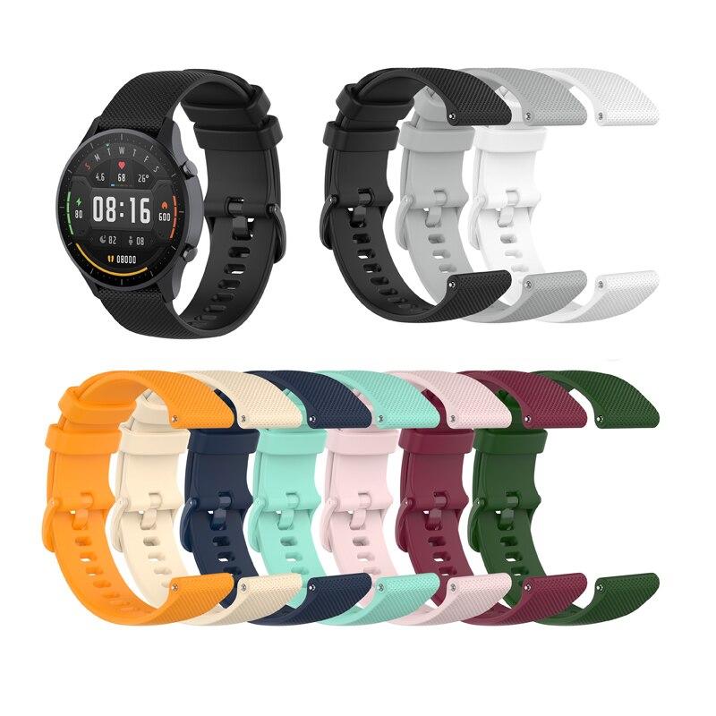 22mm Smartwatch bracelet de montre pour Haylou solaire pour Huawei montre GT pour Xiaomi montre couleur/BW-HL3 BW-AT1 bracelet de montre intelligente unisexe