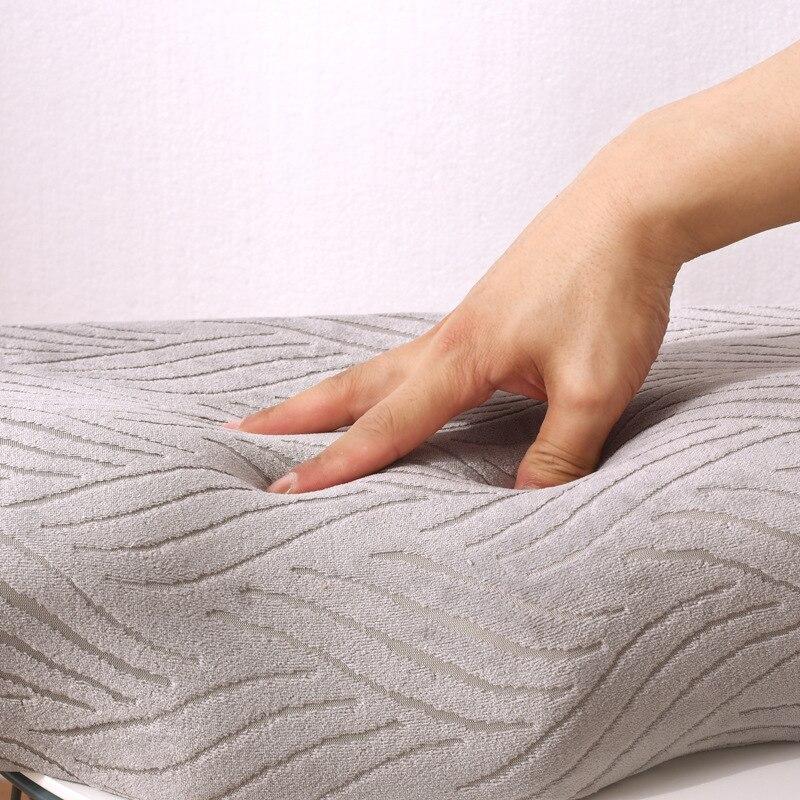 Image 5 - Удобные ортопедические подушки из латекса для ухода за шеей с эффектом памяти спальная подушка для головы поддержка шеи Travesseiro-in Подушки на кровать from Дом и животные