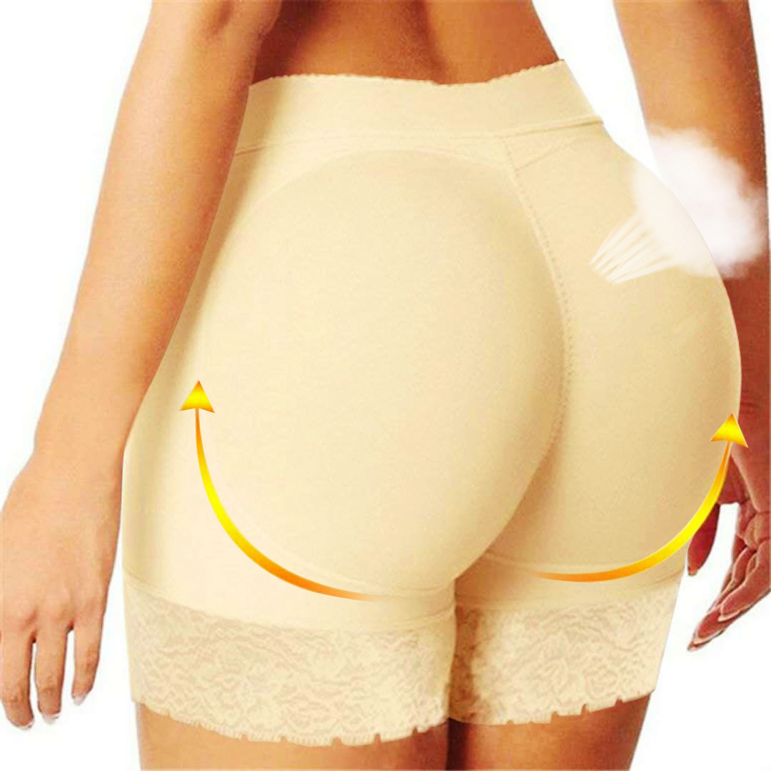 2Twinso High Waist Trainer Shapewear Body Shaper Fake Ass Butt Lifter Women Hip Enhancer Booty Lifter Slim Tummy Control Panties 1