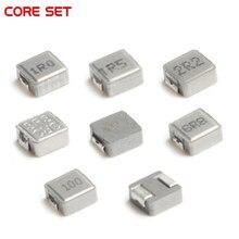 50 Uds integrado de 0420 SMD Inductores de potencia 1UH 1.5UH 2.2UH 3.3UH 4.7UH 6.8UH 10UH 1R0 1R5 2R2 3R3 4R7 6R8 100