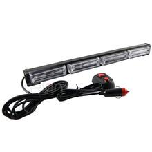 High Power 48W 16 LED Notfall Fahrzeug Auto Lkw Strobe LED Licht Bar Blinkende Warn Lichter Lampe Bernstein Rot blau Grün 12V 24V