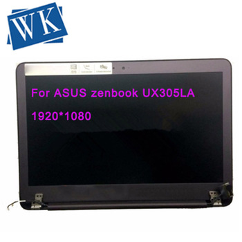 Laptop lcd Full assembly complete For ASUS zenbook UX305 UX305LA FHD lcd LED screen display 1920*1080 free shipping