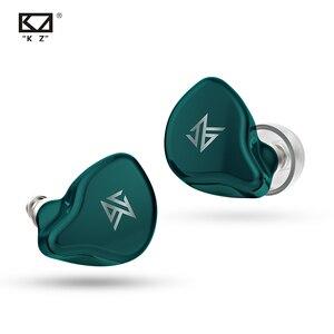 Image 4 - Kz S1 S1D tws真ワイヤレスイヤフォンbluetooth 5.0 1BA + 1DDハイブリッドイヤフォンタッチ制御ノイズキャンセルスポーツイヤホン