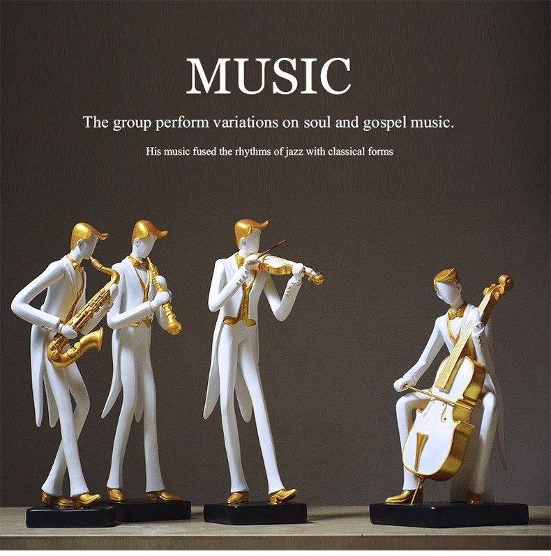 Musicians Sculptures - Musikerskulpturen