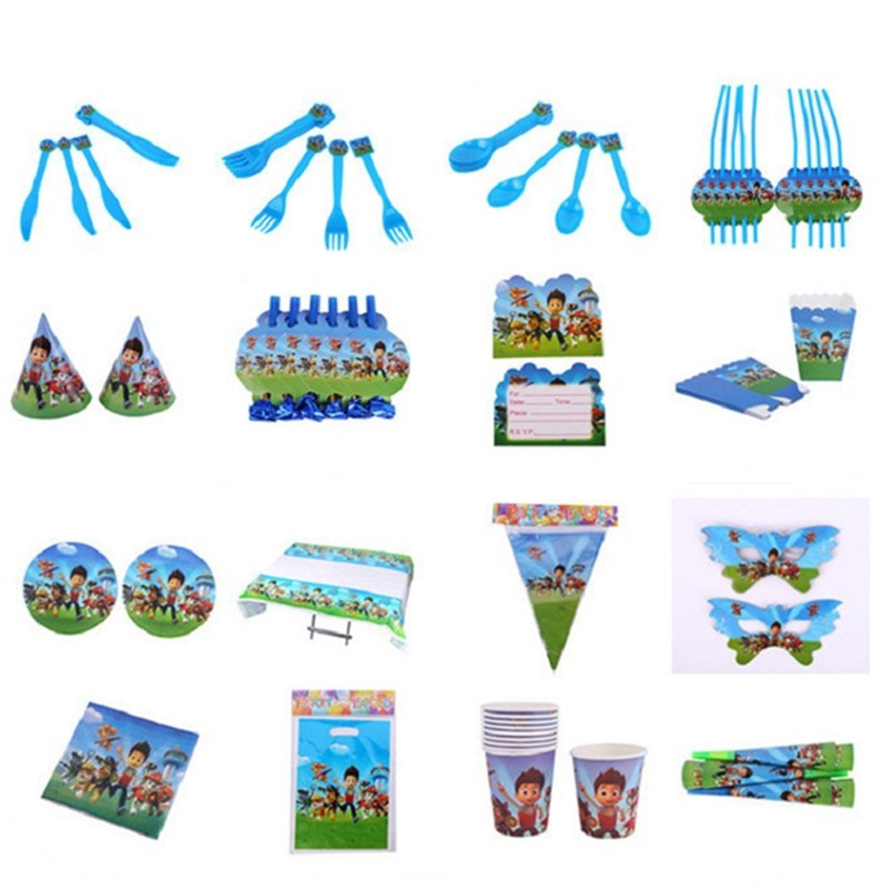 Paw patrol toys set Action Figures paw birthday Patrulla Canina Juguetes party decoration toy