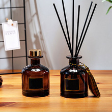 50ml Fragrance Decoration Rattan Sticks Purifying Air Aroma Diffuser Set Aromatherapy Living Room Office No Fire Essential Oil