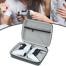 Rondaful EVA Gamepad Storage Bag Carrying Case for PS5 DualSense Controller Housing Shell Shockproof Protective Cover for PS5