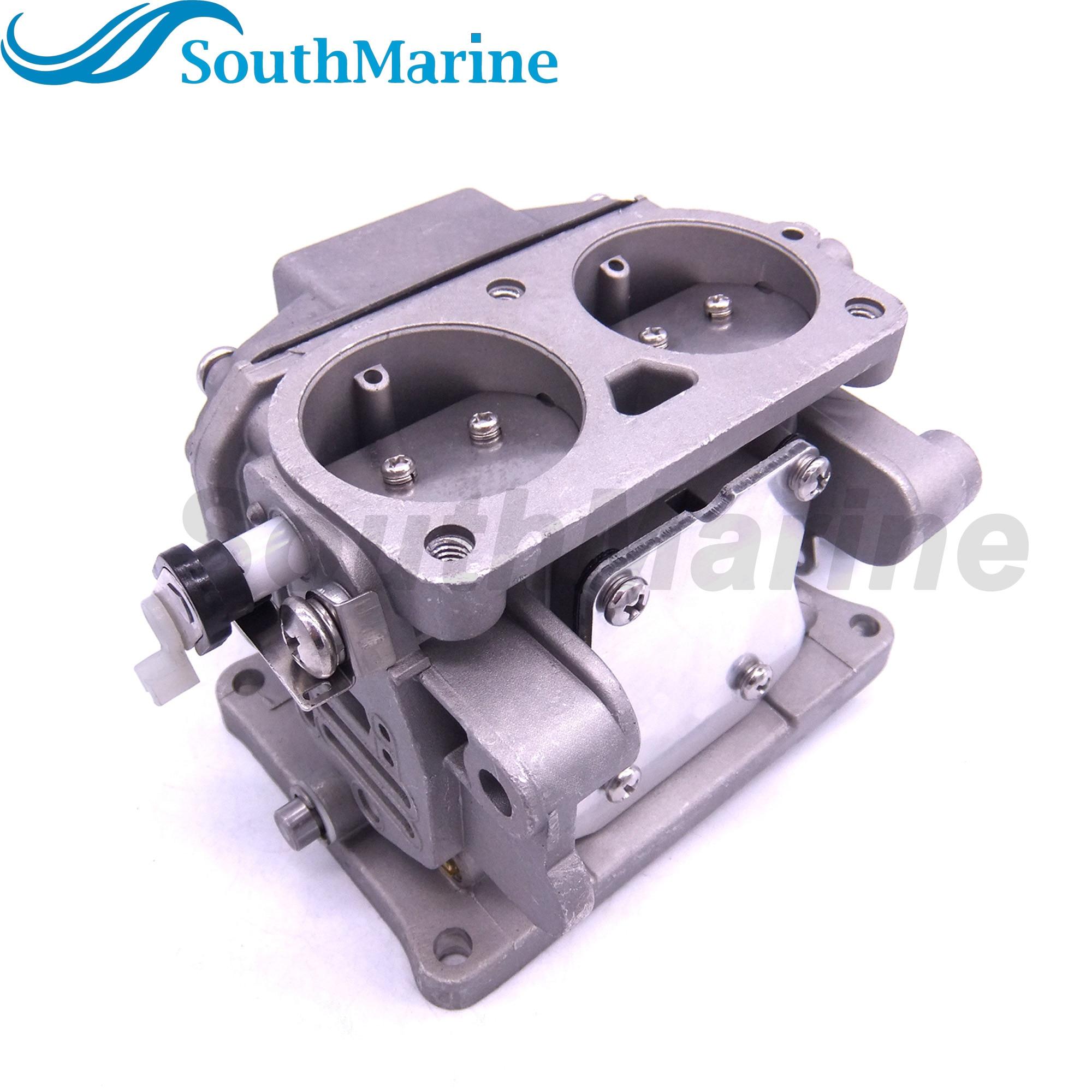 Boat Motor 6F6-14301-00 01 02 03 04 05 06 Carburetor Carb Assy For Yamaha Outboard Engine E40G E40J E40 40HP 2-Stroke