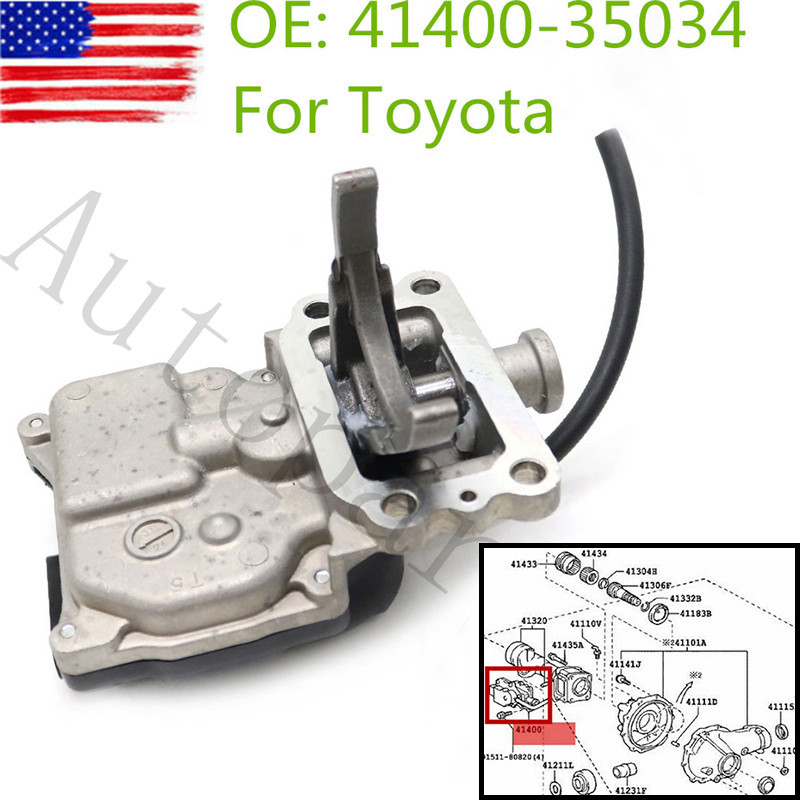 41400-35034 4WD Front Differential Vacuum Actuator For Toyota Replacement Part 4140035034 4140035033 4140035032 4140035031